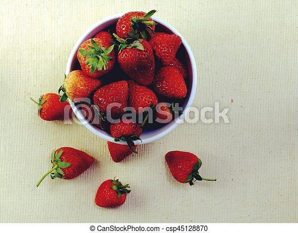 Fresas - csp45128870