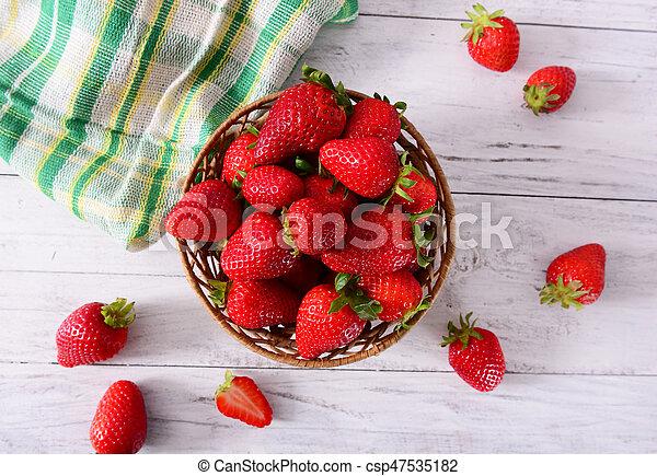 Fresas - csp47535182