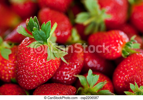fresas, rojo - csp2206587