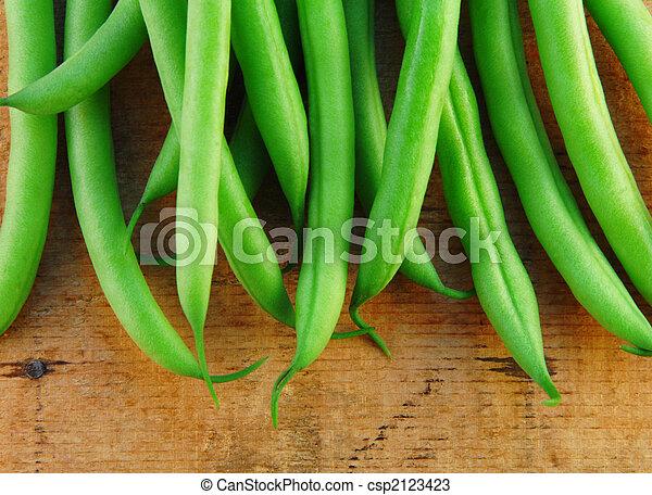 Frijoles verdes - csp2123423