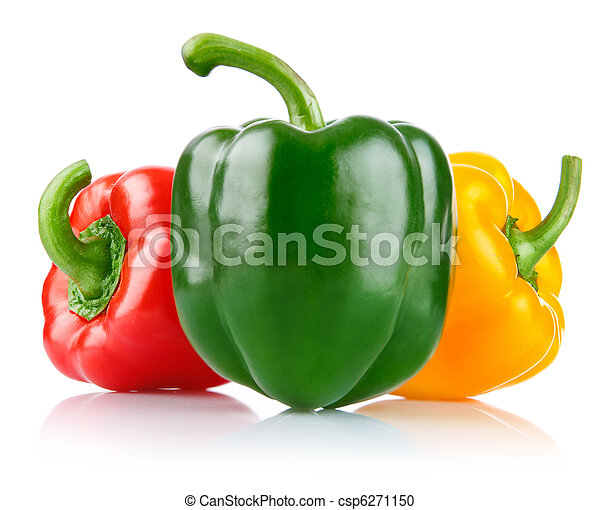 fresco, pimienta, vegetales - csp6271150