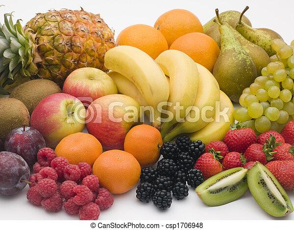 Selección de fruta fresca - csp1706948