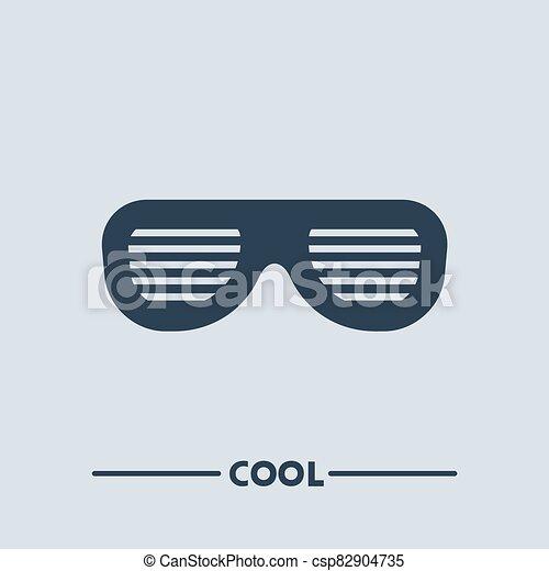 fresco, simbolo, occhiali - csp82904735