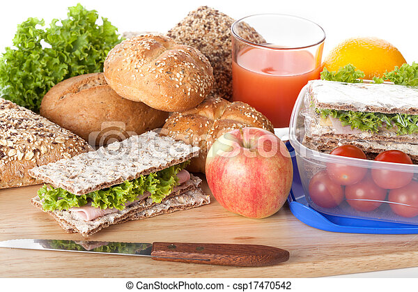 Fresh and tasty lunch - csp17470542
