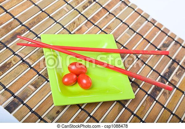 Fresh Baby Tomatoes - csp1088478