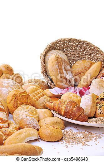 fresh bread food group - csp5498643