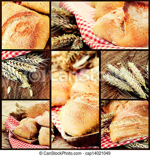 Fresh bread - csp14021049