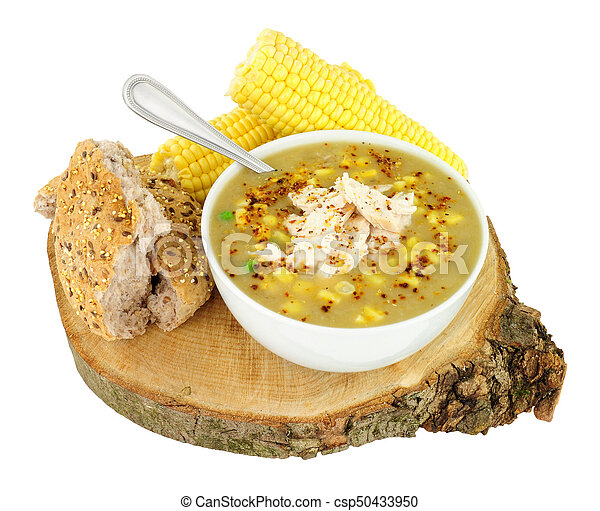 Fresh Chicken And Sweetcorn Soup - csp50433950