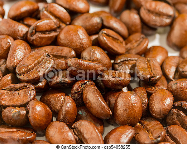 Fresh Coffee Beans Indicates Delicious Restaurant And Coffees
