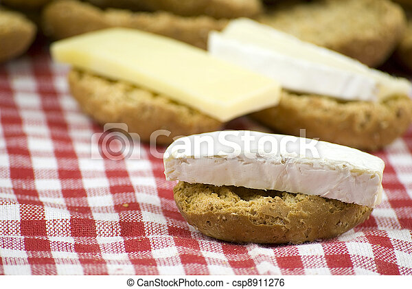 fresh crisp bread rolls - csp8911276