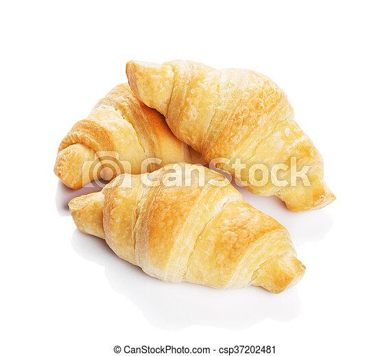 Fresh croissants - csp37202481