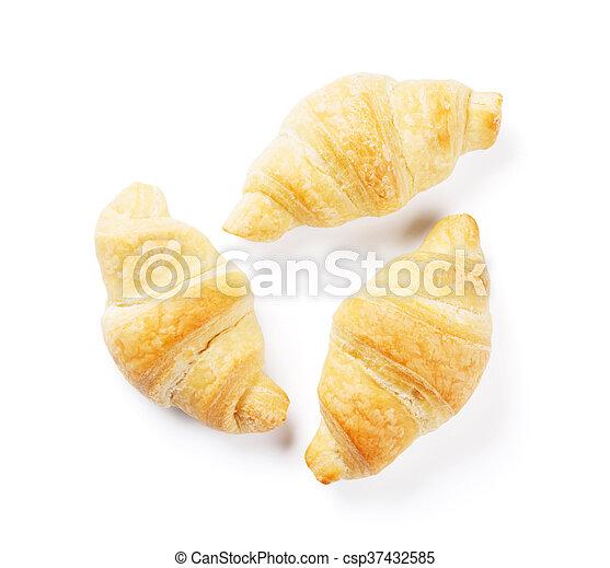 Fresh croissants - csp37432585