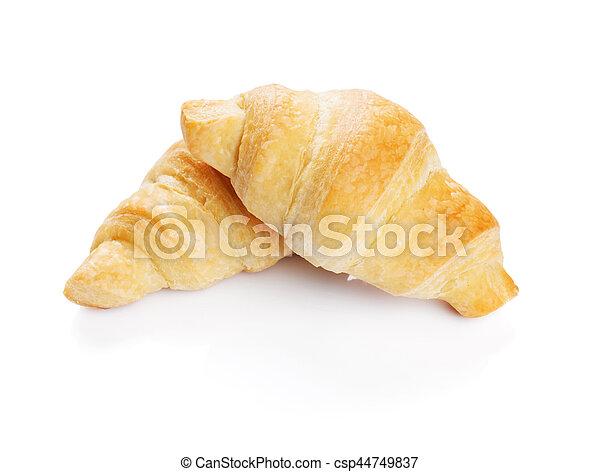 Fresh croissants - csp44749837