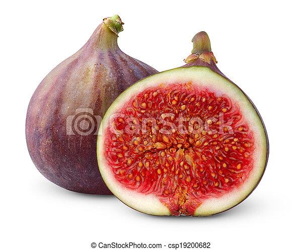 Fresh figs - csp19200682