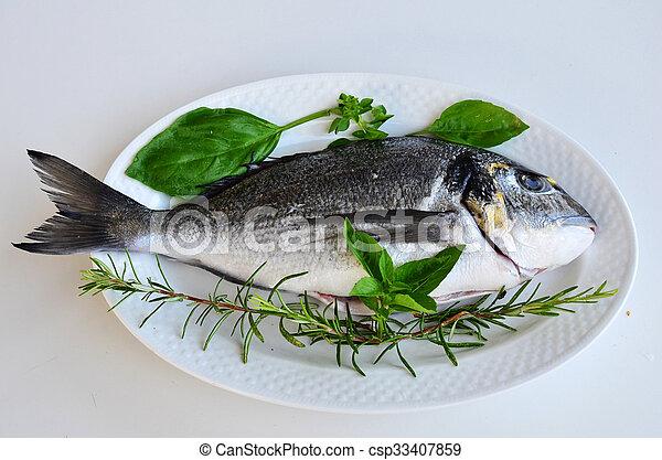 Fresh fish 2 - csp33407859