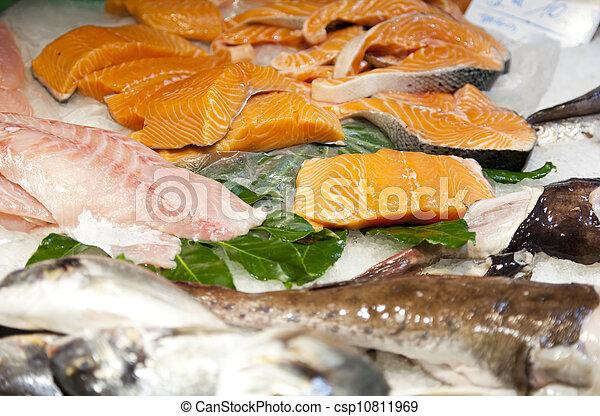 Fresh fish - csp10811969