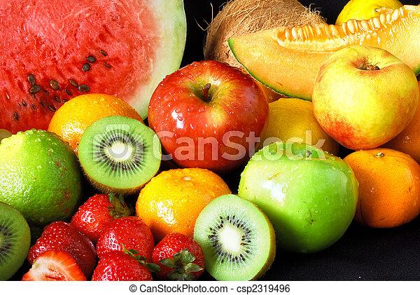 Fresh fruit assortment - csp2319496