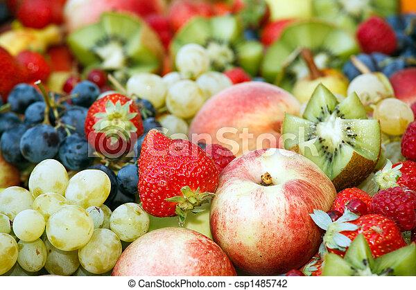 fresh fruit assortment - csp1485742