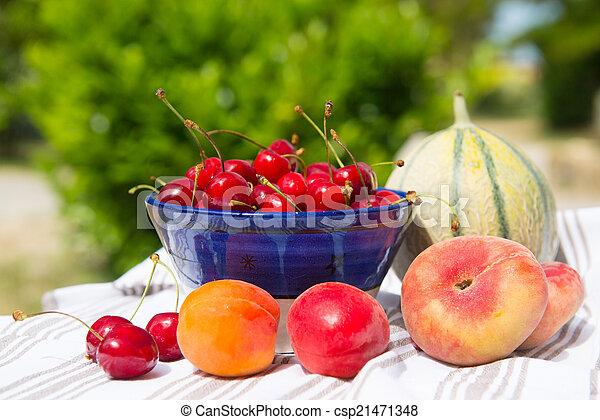 Fresh fruit assortment - csp21471348