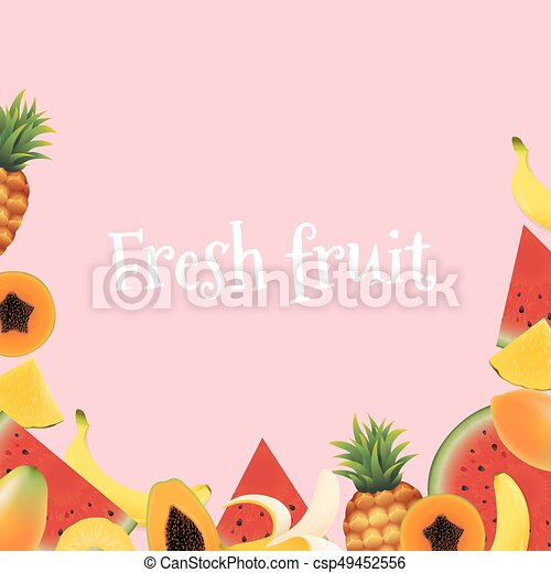 Fresh Fruit - csp49452556