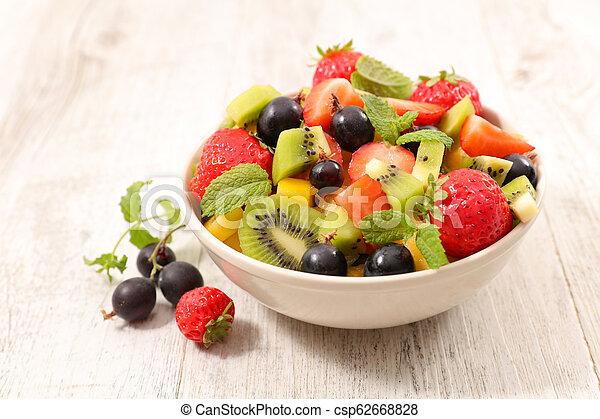 fresh fruit salad - csp62668828