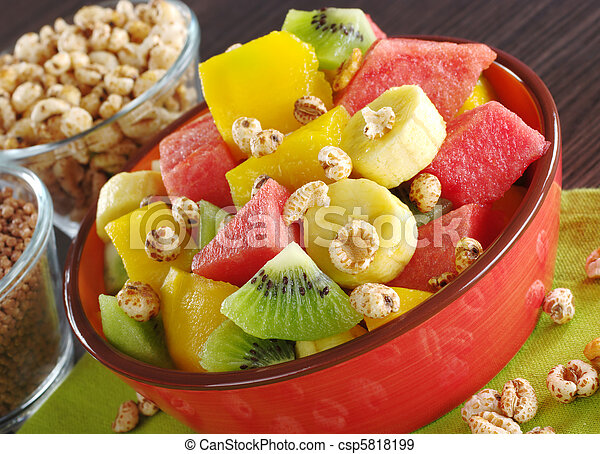 Fresh Fruit Salad  - csp5818199