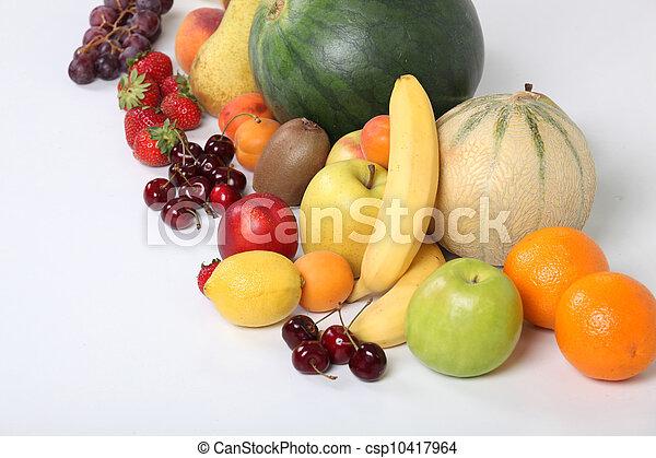 Fresh fruit - csp10417964