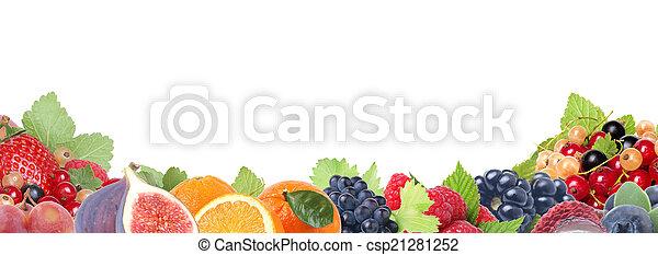 Fresh fruit - csp21281252