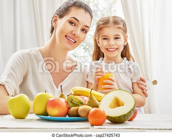 fresh fruit - csp27425743