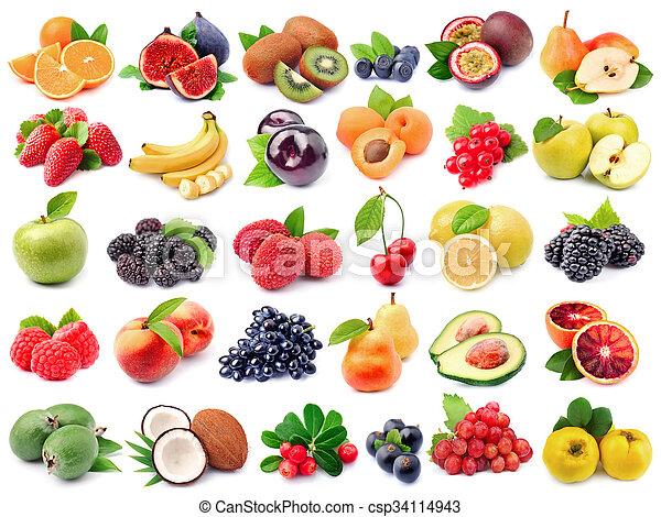 Fresh fruit - csp34114943