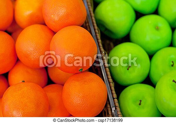 Fresh fruit - csp17138199