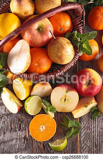 fresh fruit - csp26688100