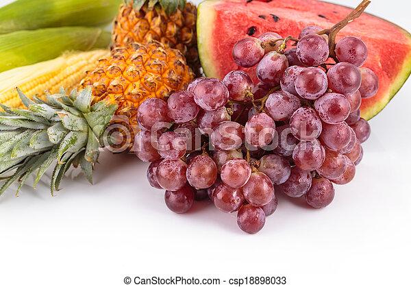 Fresh fruit. - csp18898033
