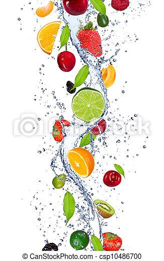 Fresh fruits - csp10486700