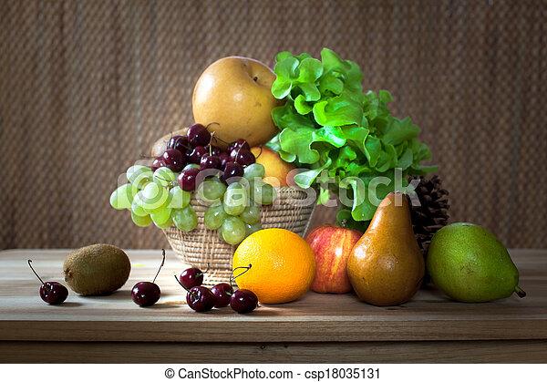 Fresh fruits - csp18035131