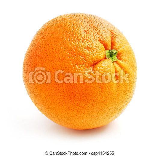 fresh grapefruit fruit isolated on white - csp4154255