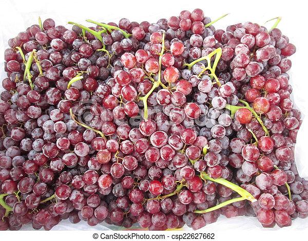 Fresh grapes - csp22627662