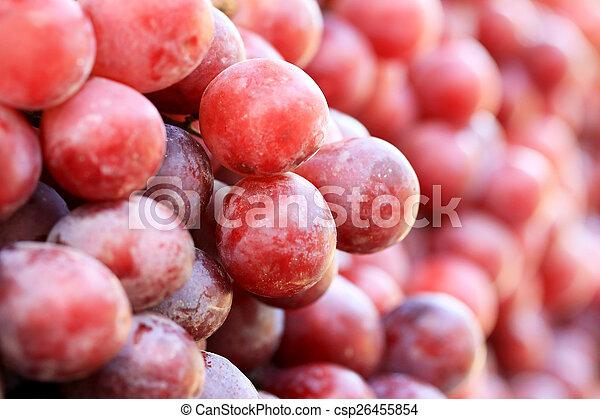 Fresh grapes - csp26455854