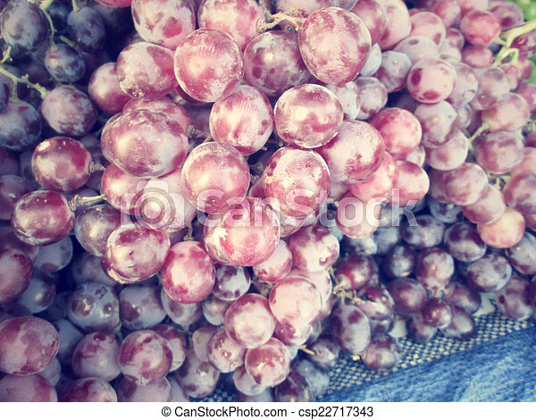 Fresh grapes - csp22717343