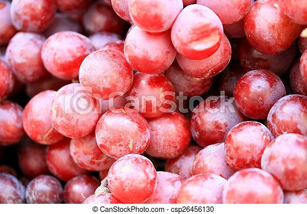 Fresh grapes - csp26456130