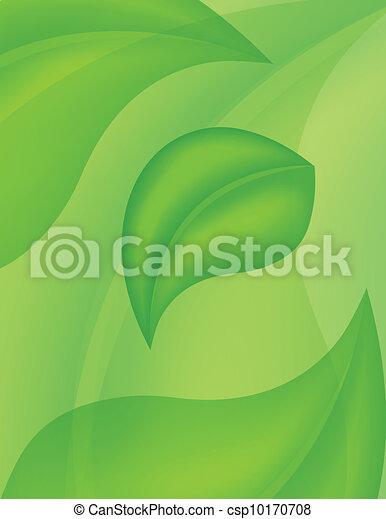 fresh green leaves - csp10170708