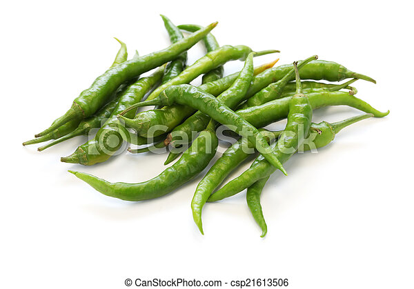 fresh guindillas peppers - csp21613506