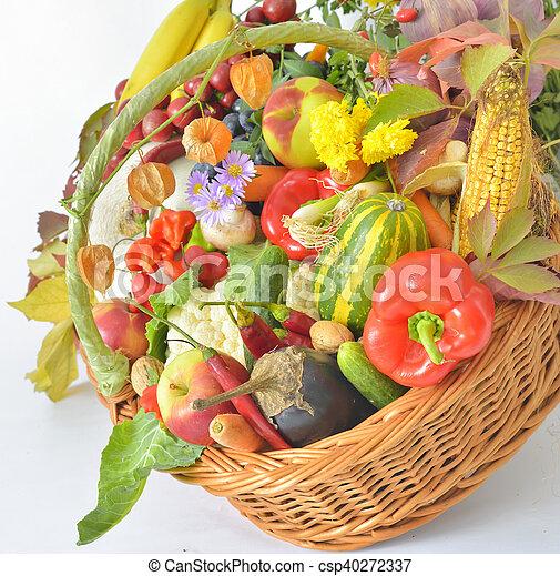 fresh healthy vegetables - csp40272337