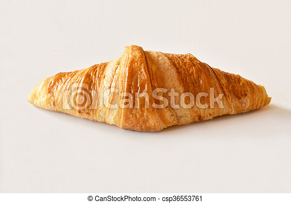 fresh homemade croissants - csp36553761