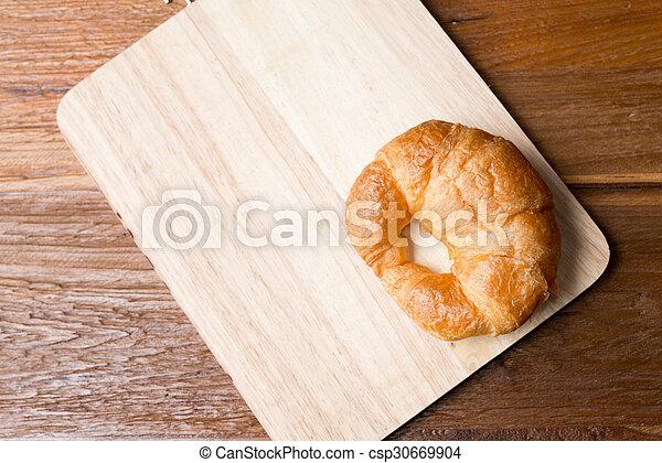 Fresh homemade croissants - csp30669904