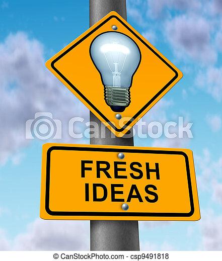 Fresh Ideas - csp9491818