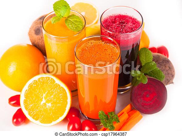 fresh juice - csp17964387