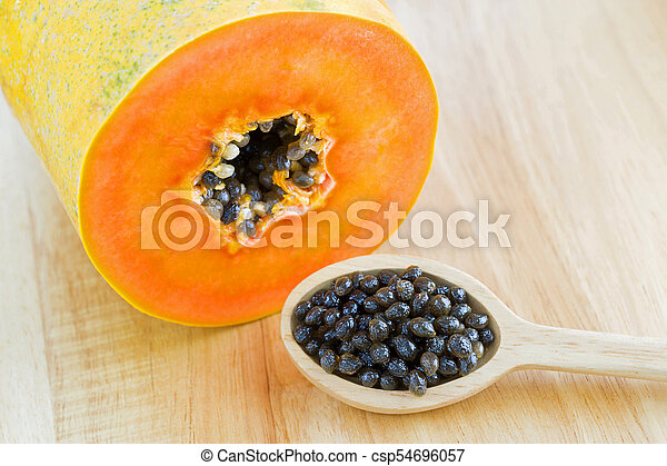 Pictures Of Papaya Seeds