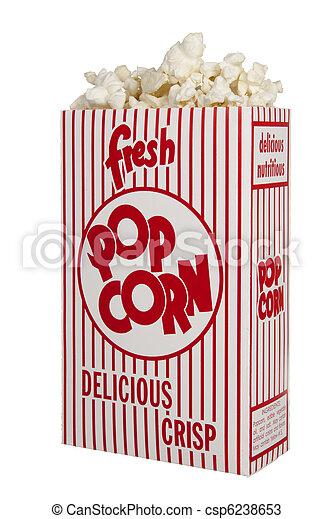Fresh Popcorn - csp6238653
