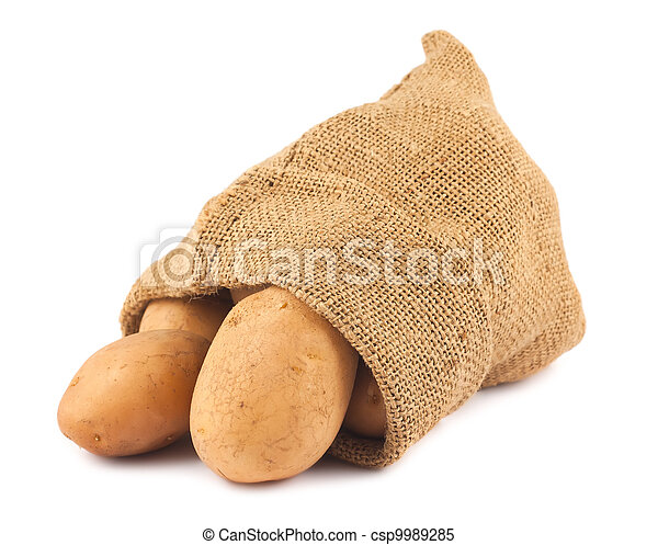 Fresh potatoes - csp9989285